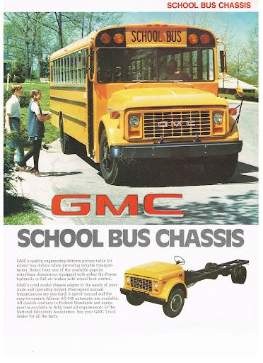 1977 GMC School Bus Chassis