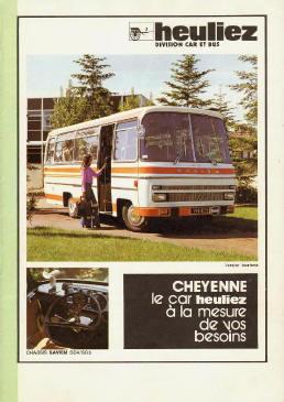 1977 Saviem Heuiliez Cheyenne 77