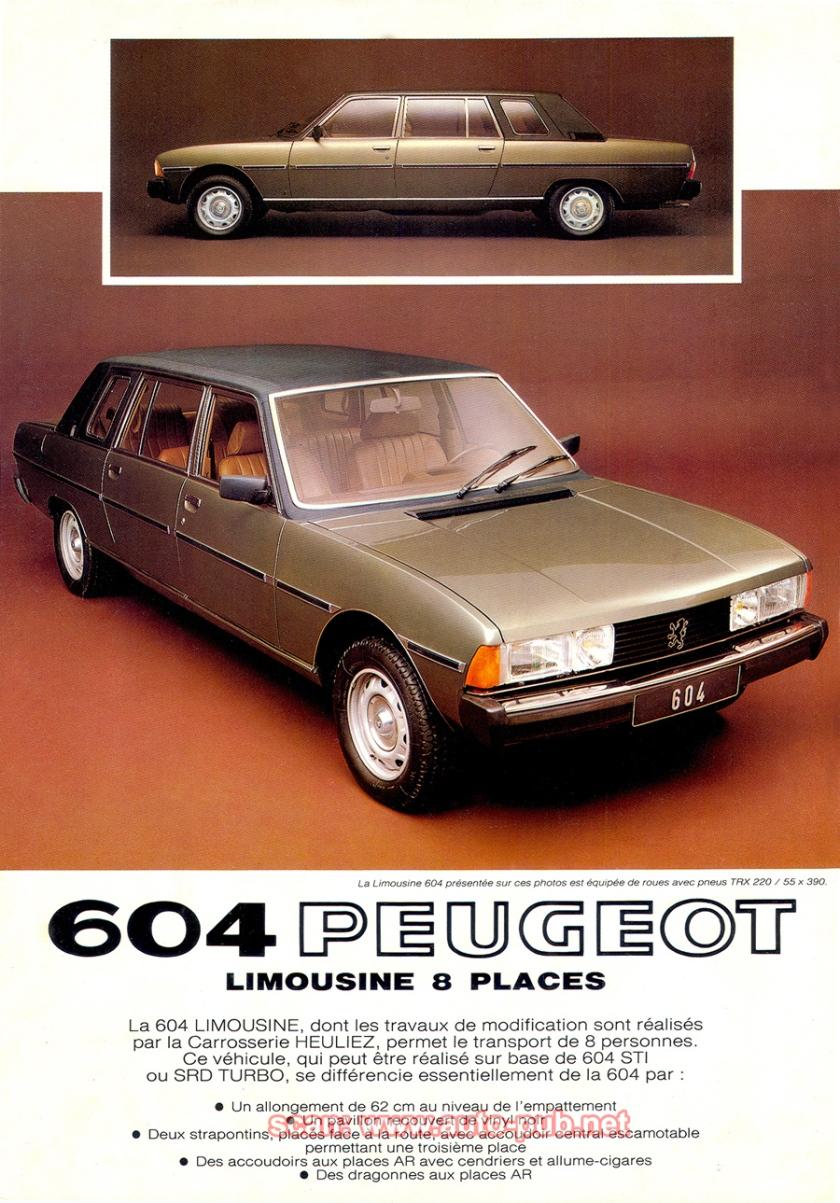 1978 604 Limousine FE1