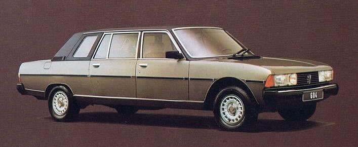 1978-84 Heuliez Peugeot 604 Limousine