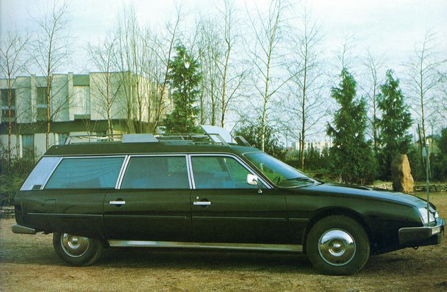 1978 Citroën CX by Heuliez black