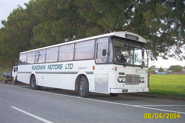 1978 Ford R1114 with NZMB-Hess body originally with Eastbourne Bus Co