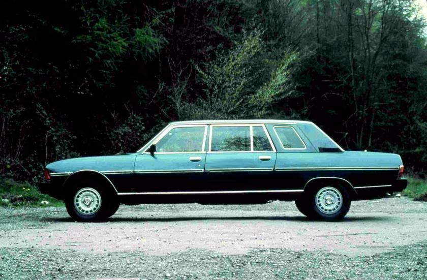1978 Heuliez Peugeot 604 Limousine