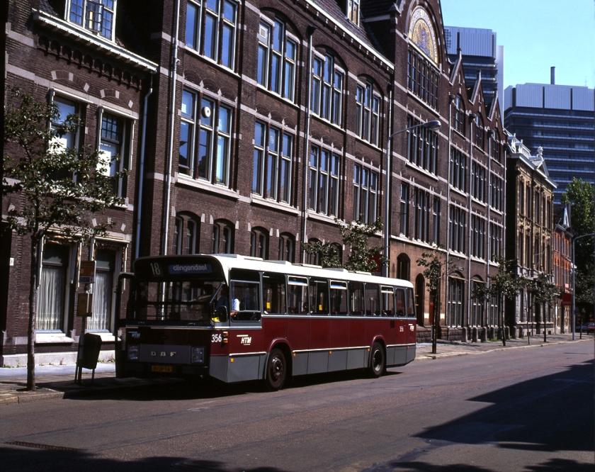 1978 HTM standaardbus 356 van het type Hainje-DAF