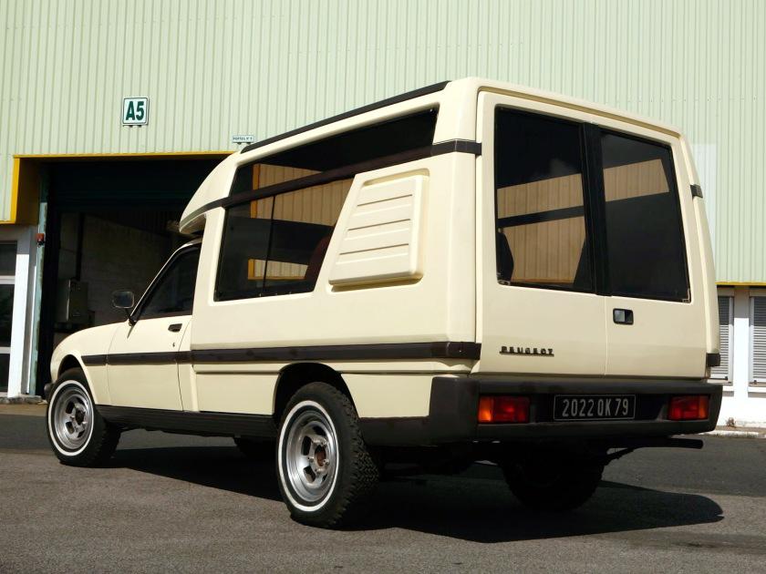 1979 Peugeot 504 Loisirs prototype by Heuliez