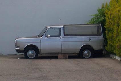1980 Simca 1000 Corbillard