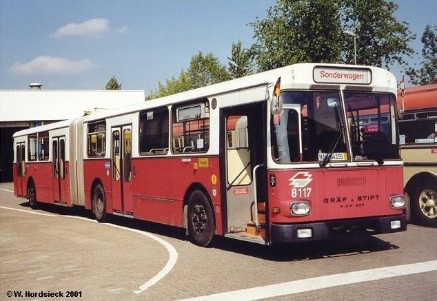1981 Gräf & Stift GU 230-54 Gelenkbus