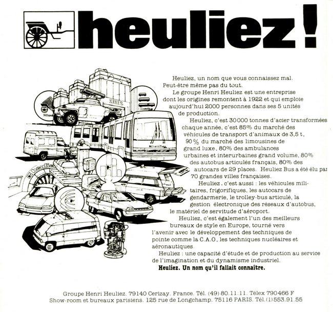 1981 Heuliez