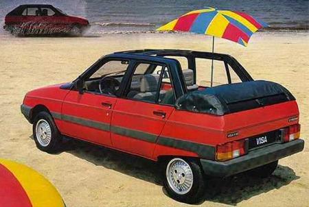 1982 Citroën Visa Convertible, Heuliez