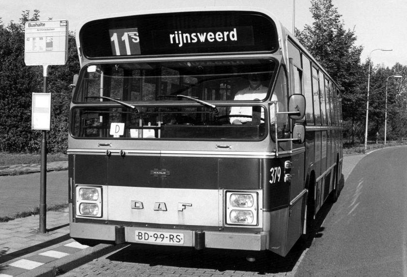 1982 DAF-Hainje ( 367 in 1985 gesloopt ) 350a