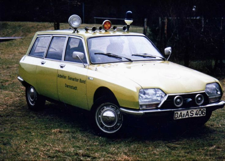 1982 Heuliez Citroën Ambulance Germany