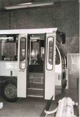 1982 Volvo B6FA Midibus nr. 119 met carrosserie van Hainje