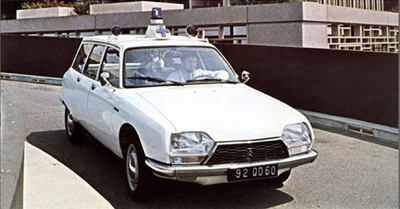 1983 Citroën GS Ambulance a