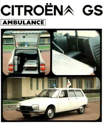 1983 Citroën GS Heuliez ambulance6