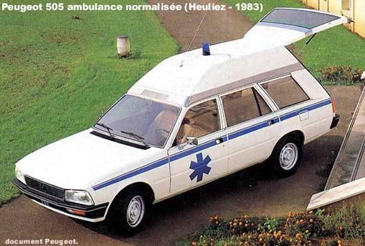 1983 Peugeot 505 Ambulance