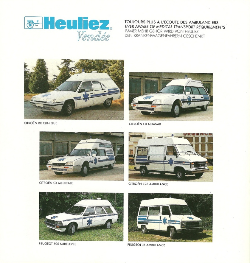 1984 Heuliez is a major coachbuilder, making many special