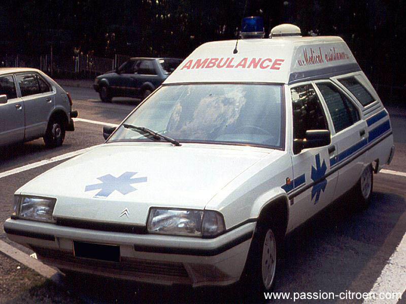 1986 Citroën bx heuliez ambulance