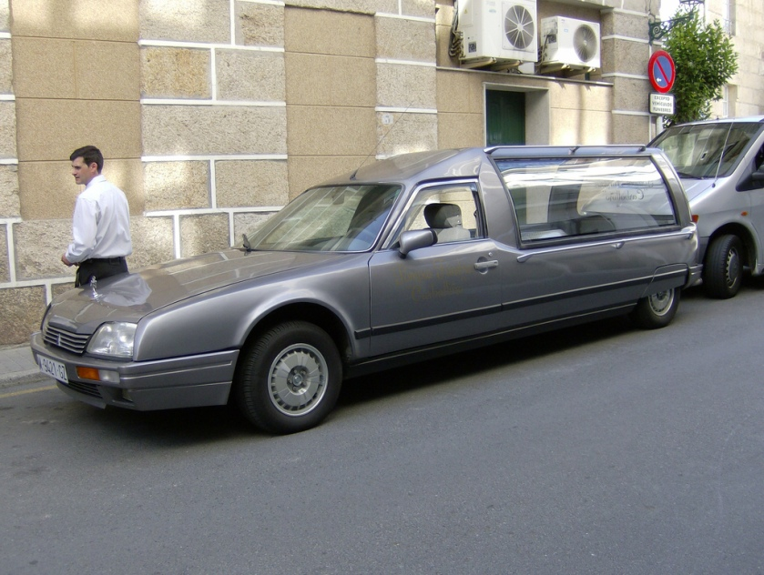 1986 Citron CX 25 GTI Automatic Hearse