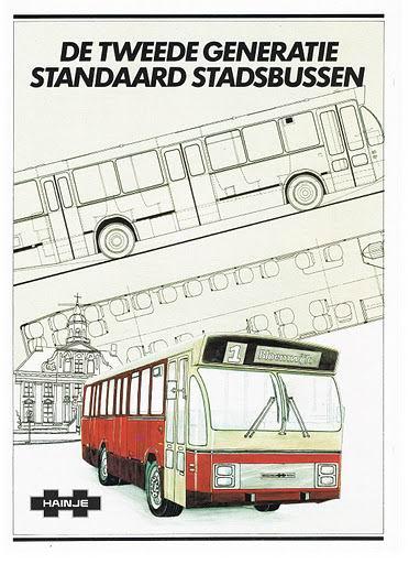 1986 HAINJE 2e Gen Stadsbussen