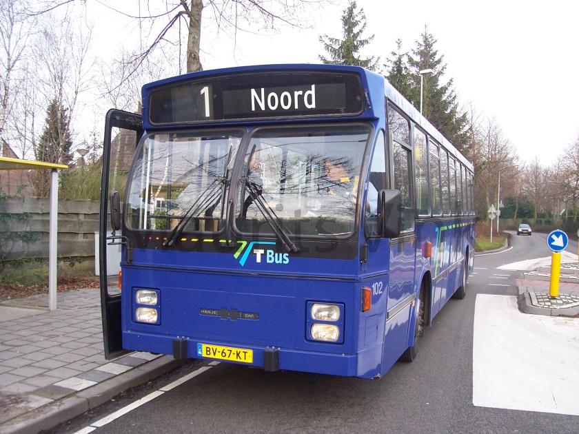1986 Hainje Daf 2e gen. BBA 102 Goirle Nieuwe Rielseweg