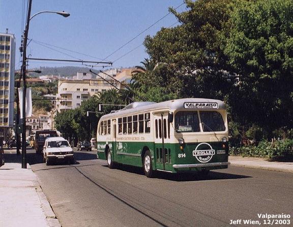1986 Hess Kiepe Valparaiso 814 Chile