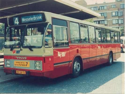 1986 Volvo B10 R met carrosserie van Hainje