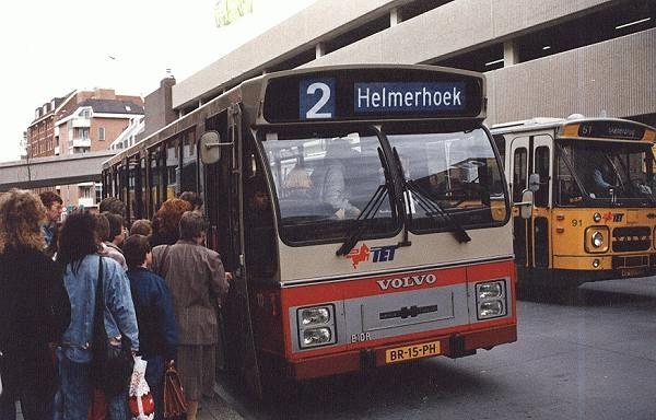 1986 Volvo B10R nr. 10 met carrosserie van Hainje