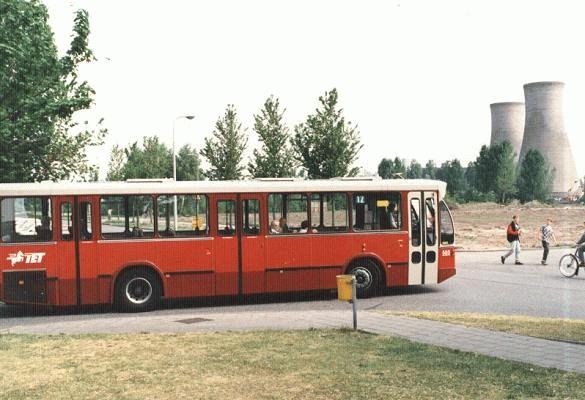 1986 Volvo B10R nr. 505 met carrosserie van Hainje