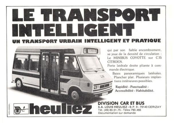 1987 pub heuliez c35 gd