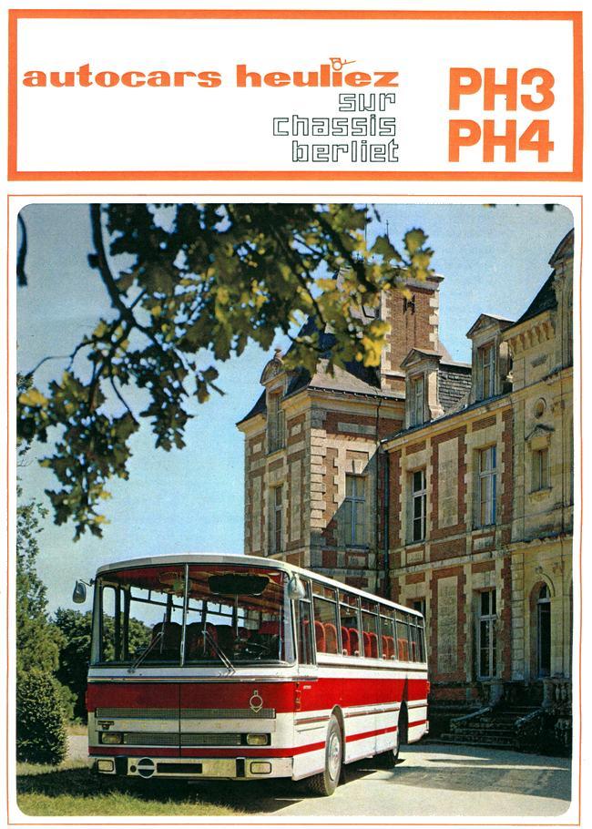 1988 Berliet Heuliez autocar