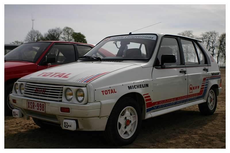 1988 Citroën Visa 1000 pistes
