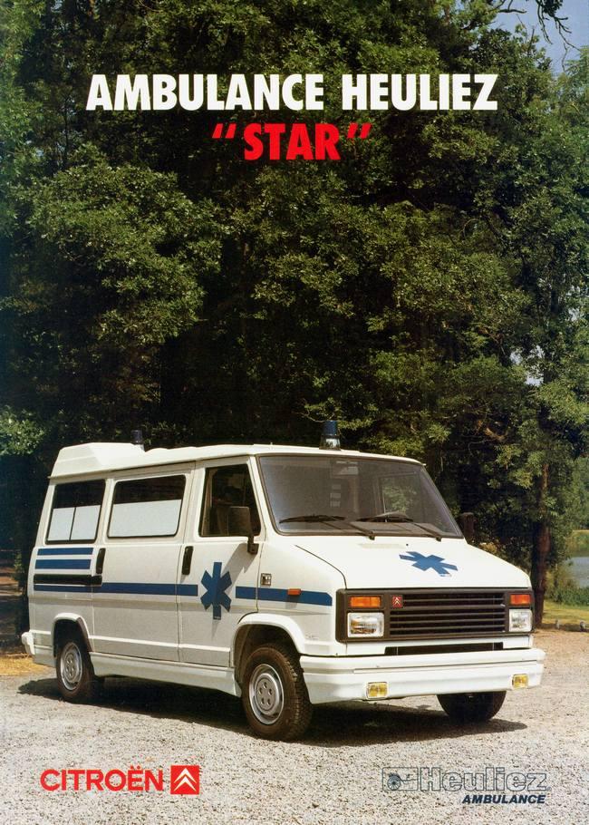 1990 heuliez ambulance