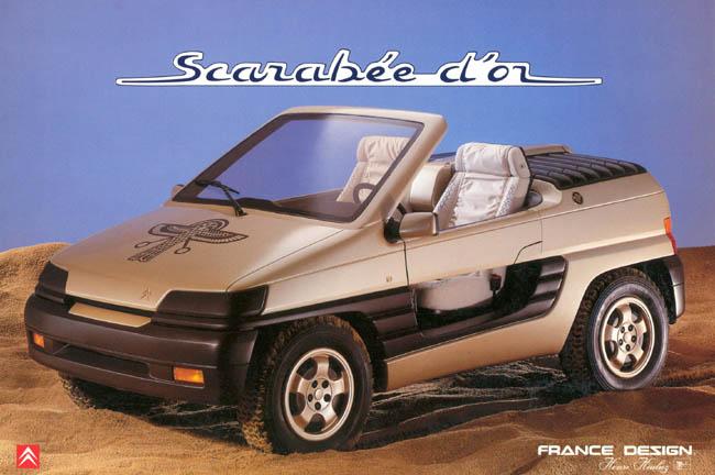 1990 Heuliez Citroen Scarabee d-Or