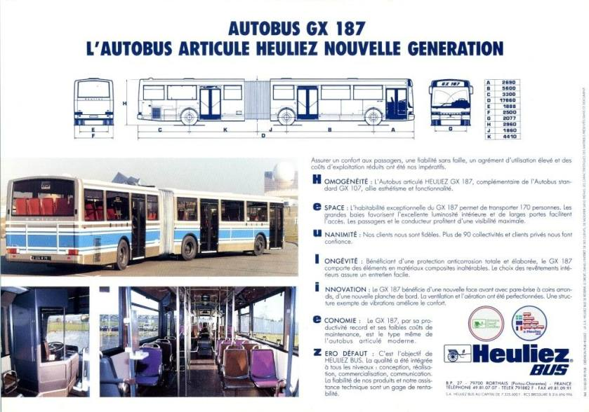 1992 Autocar Et Autobus Les Cars Berliet Picture Heuliez