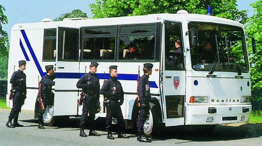 1993 Heuliez PR-8C staff bus