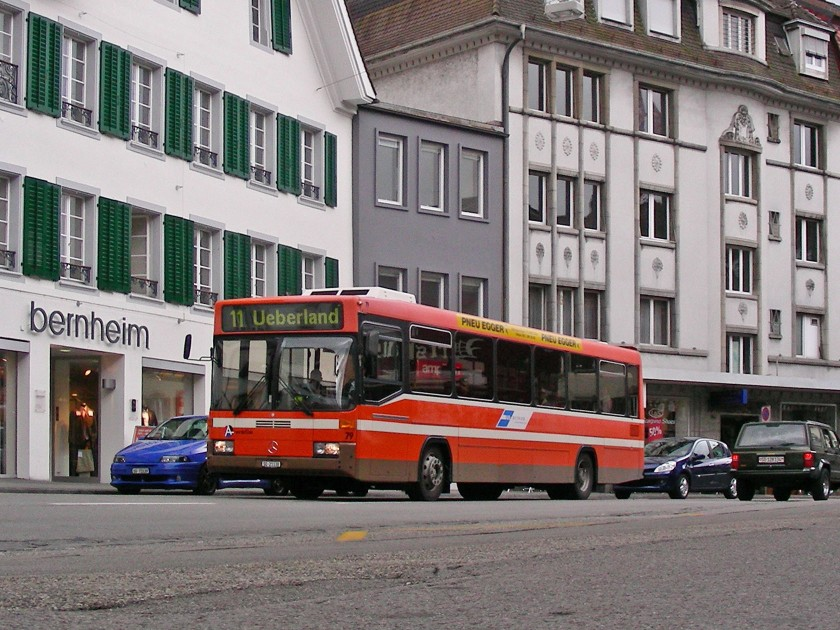 1998 BOGG MB Hess O405 Nr79 Front