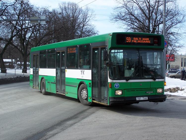 1998 Hess 220 City Scania Estland