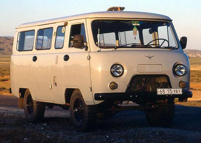 1999 UAZ-2206 Mongolië
