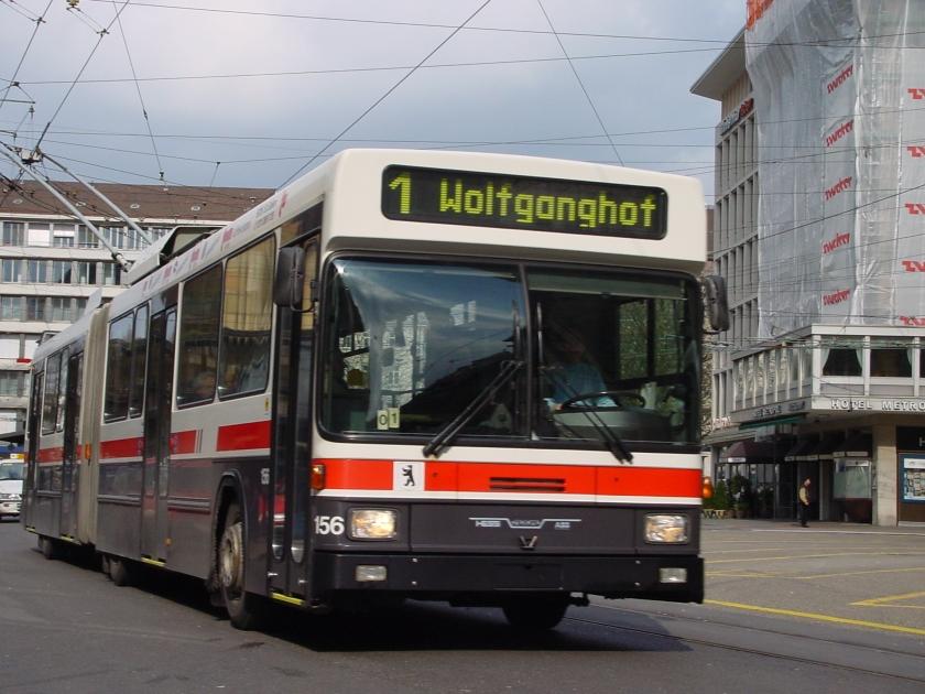 2001 Hess Trolleybuses in St. Gallen