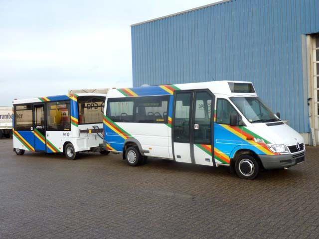 2004 MERCEDES BENZ 416 CDI Sprinter + Anhänger Hess minibus