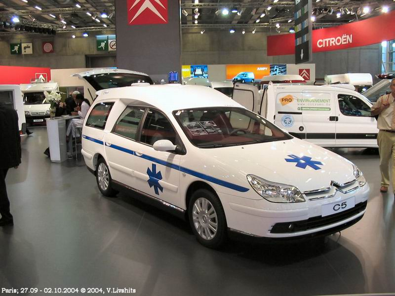 2005 Citroen C5 Ambulance