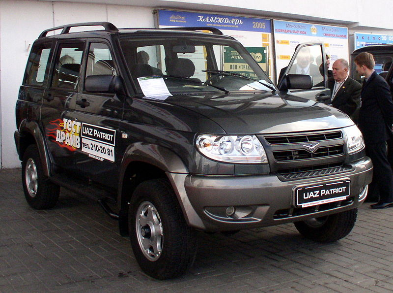 2005-nu UAZ Patriot