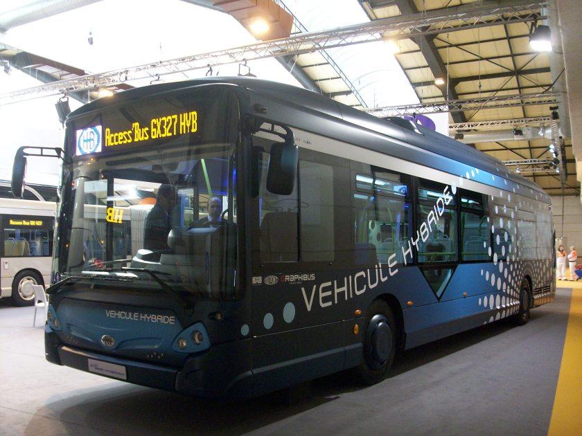 2011 Heuliez GX 327 Hybride - RNTP 2011-2