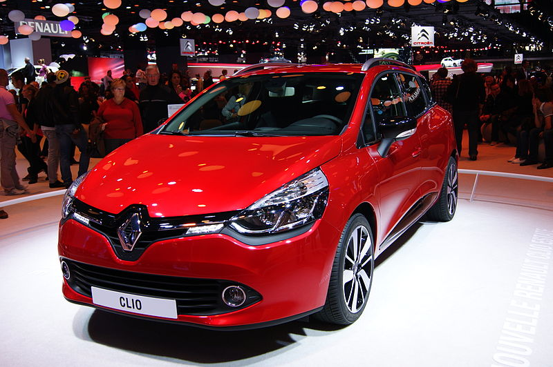 2012-.. Renault Clio IV estate