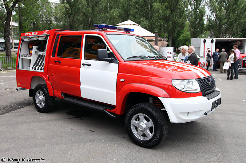 2013 UAZ Patriot-Integrated Safety and Security Exhibition