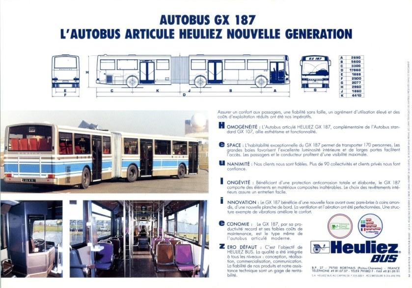 Autocar Et Autobus Les Cars Berliet Picture Heuliez