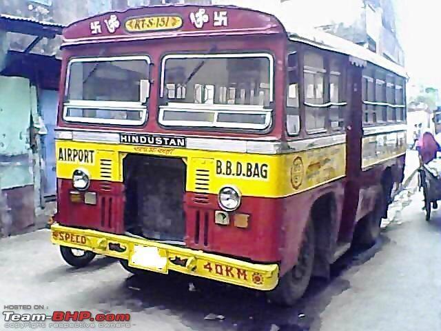 Bussen HINDUSTAN mini bus