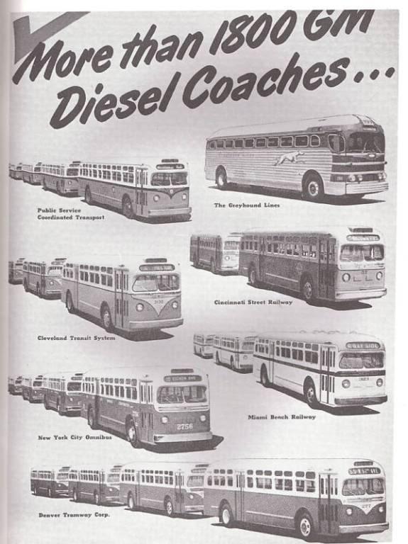 GM Diesel Coaches