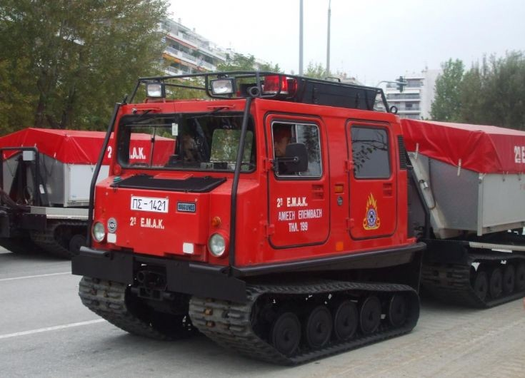 Hagglunds BV 206 Greek Fire Service