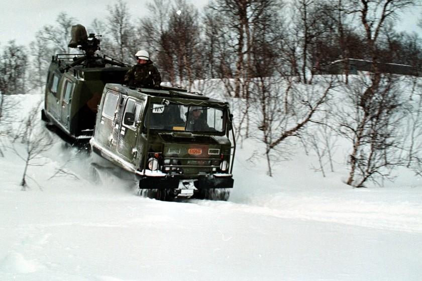 Hagglunds Bv206 25th US Marines 2